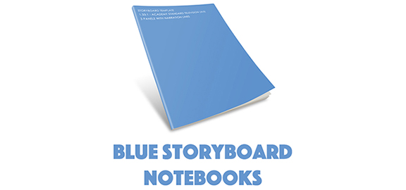Brands - Blue Storyboard Notebooks